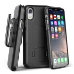 iPhone XR Duraclip Case And Holster Black