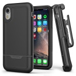 iPhone XR Rebel Case And Holster Black
