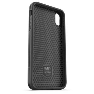 iPhone XR Rebel Power Battery Case Black