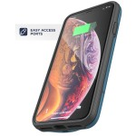 iPhone XS Max Rebel Power Battery Case Blue