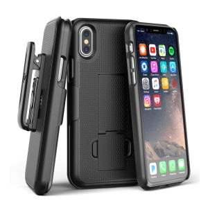 iPhone XS Max Duraclip Case And Holster Black