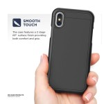 iPhone XS Max Slimshield Case And Holster Black