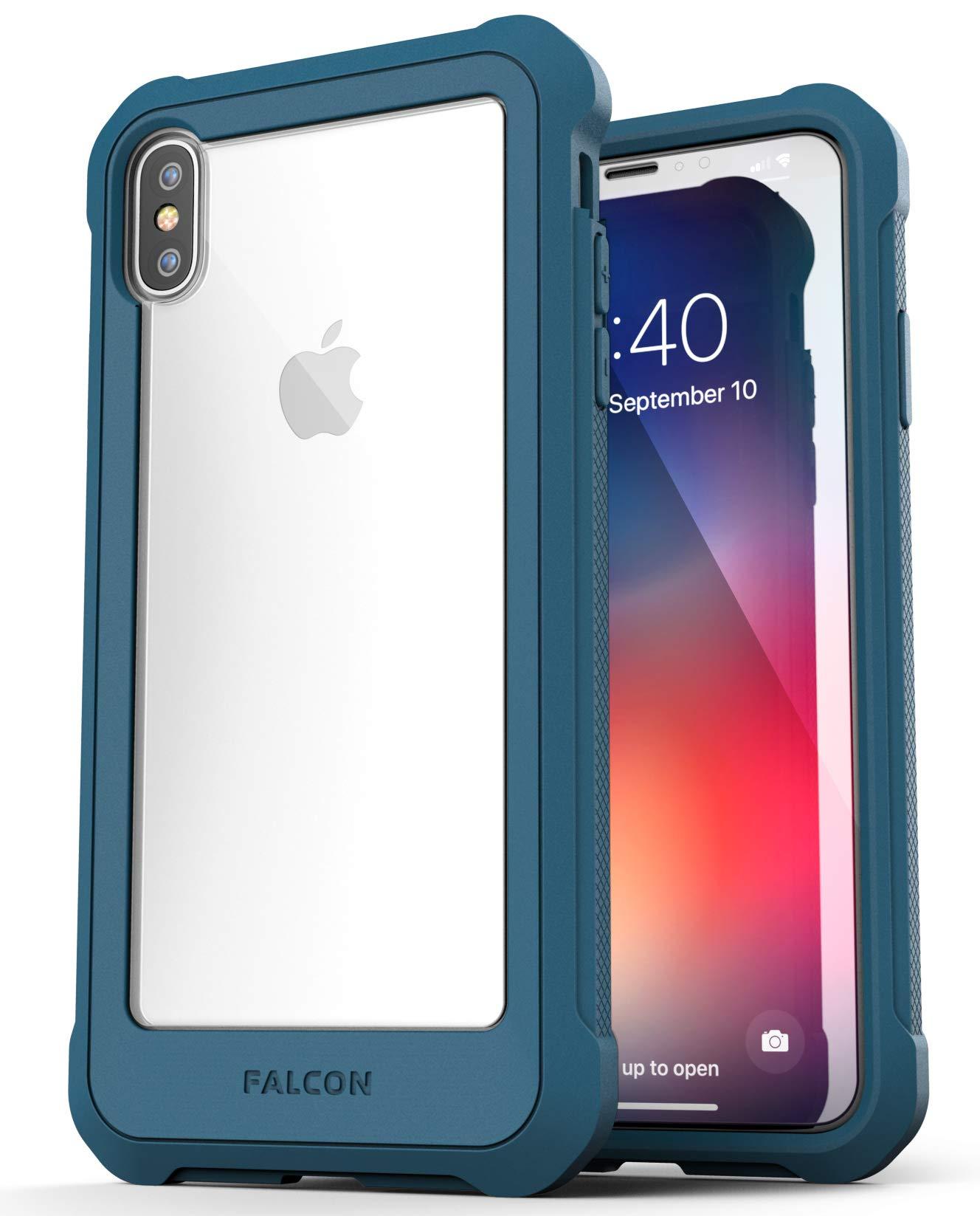 the best attitude 7b64c d0fcd iPhone Xs Max Falcon Case Blue