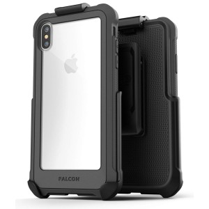 iPhone Xs Max Falcon Case and Holster Grey