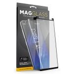 Galaxy S9 plus Case Compatible Magglass Tempered Glass Clear