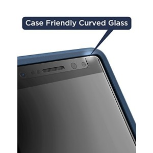 Galaxy S9 Case Compatible Magglass Tempered Glass Clear