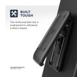 Galaxy S10 5G Thin Armor Case and Holster Black