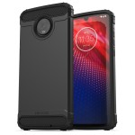 Moto Z4 Scorpio Case and Holster Black