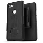 Pixel 3a XL Duraclip Case and Holster Black