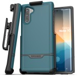 Galaxy Note 10 Rebel Angel Blue with Holster