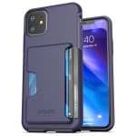iPhone 11 Phantom wallet-case Purple