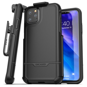 iPhone 11 Pro Max Rebel Case and Holster Black