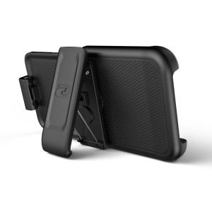 iPhone 11 Pro Max Thin Armor Case and Holster Black