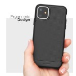 iPhone 11 Thin Armor Case and Holster Black