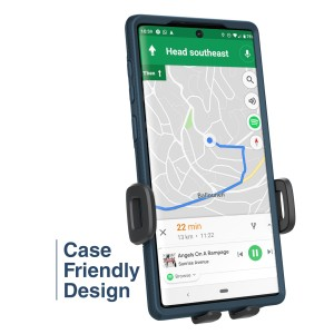 Encased Squeeze Cup Car Mount - Black