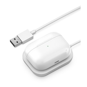 Wireless Charging Station for Apple Airpod Pro (White)