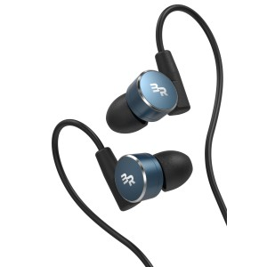 iPhone Earbuds Apple Certified Lightning Earphones Workout In Ear Headphones Blue (V180)