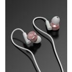 iPhone Earbuds Apple Certified Lightning Earphones Workout In Ear Headphones Rose (V180)