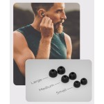 Wired Earphones for iPhone Headphone Apple Certified In Ear Lightning Earbuds Black (V120)