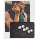 Wired Earphones for iPhone Headphone Apple Certified In Ear Lightning Earbuds White (V120)