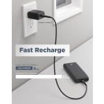 USB C Power Bank - 18W PD Fast Charging Battery Pack 16000mAh (2 Input/3 Output) With: Type C to C Cable/USB-C Adapter