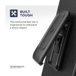 Samsung Galaxy A11 Slimline Case and Holster Black