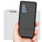Motorola Edge Plus Rebel Case and Holster Black
