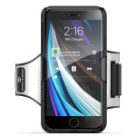 iPhone 7/8/SE 2020 Armband for Running, Adjustable Comfortable Workout Band with Slim Cas