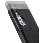 Motorola Edge Plus Duraclip Case and Holster Black