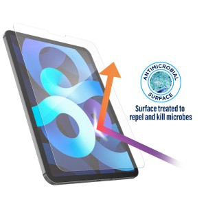 """iPad 10.9"""" 2020 Case Compatible Magglass Tempered Glass Clear"""