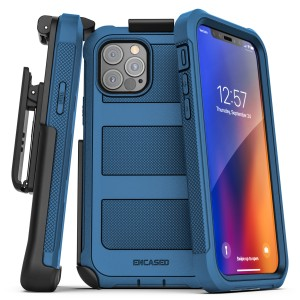 iPhone 12 Pro Falcon Shield Case And Holster Blue