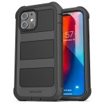 iPhone 12 Mini Falcon Shield Case And Holster Black