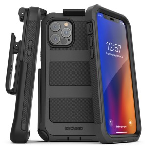 iPhone 12 Pro Falcon Shield Case And Holster Black
