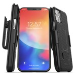iPhone 12 Duraclip Case And Holster Black