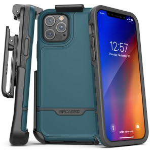 iPhone 12 Pro Max Rebel Case And Holster Blue