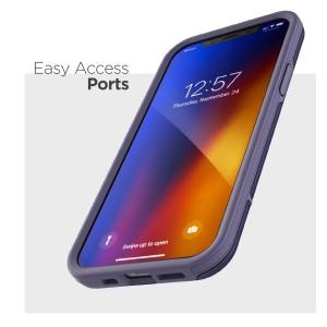 iPhone 12 Pro Rebel Case Purple