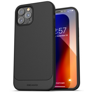 iPhone 12 Pro Thin Armor Case Black