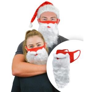 Holiday Santa Beard Face Mask