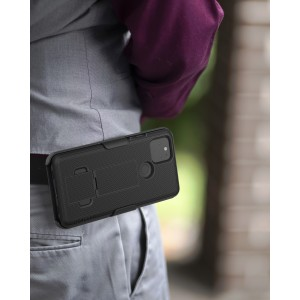 Google Pixel 4a 5G Duraclip Case and Holster Black
