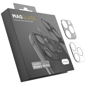 Camera Lens Protector for iPhone 12 Pro Max (2 Pack) Tempered Glass Protector