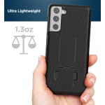 Galaxy S21 Duraclip Case and Holster Black