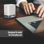 Steliron Automatic Hand Sanitizer Mist Dispenser, Infrared Touchless Anti Bacterial Alcohol Dispenser