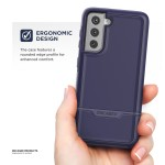 Galaxy S21 Plus Rebel Case and Holster Purple