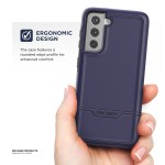 Galaxy S21 Rebel Case and Holster Purple