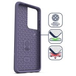 Galaxy S21 Ultra Rebel Case and Holster Purple