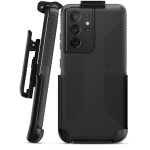 Belt Clip Holster for Speck Presidio2 Grip Compatible with Samsung Galaxy S21 Ultra