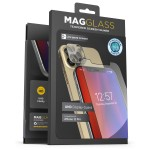 Magglass iPhone 12 Pro UHD Anti Microbial Tempered Glass Screen Protector and Camera Lens Protector