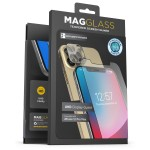 Magglass iPhone 12 Pro Max UHD Anti Microbial Tempered Glass Screen Protector and Camera Lens Protector