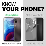 Moto G Power 2021 MagGlass UHD Clear Screen Protector
