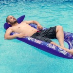 Galvanox Water Lounger -Inflatable Floating Boat